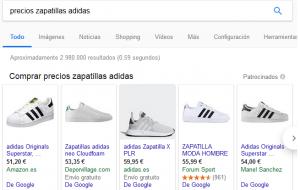 como crear una campaña en google shopping