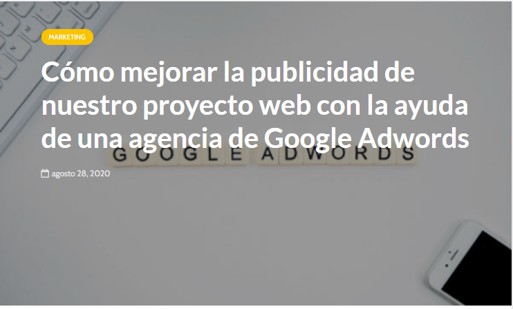 agencia google ads madrid - Prensa